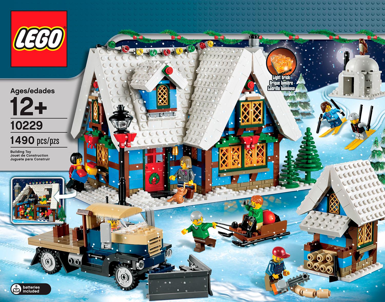 lego winter village cottage  10229  revealed the brick LEGO Creator Winter Village Cottage 10229 Christmas LEGO Creator Winter Village Cottage 10229 Christmas