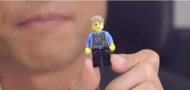 Lego Chase McCain City Undercover Minifigure