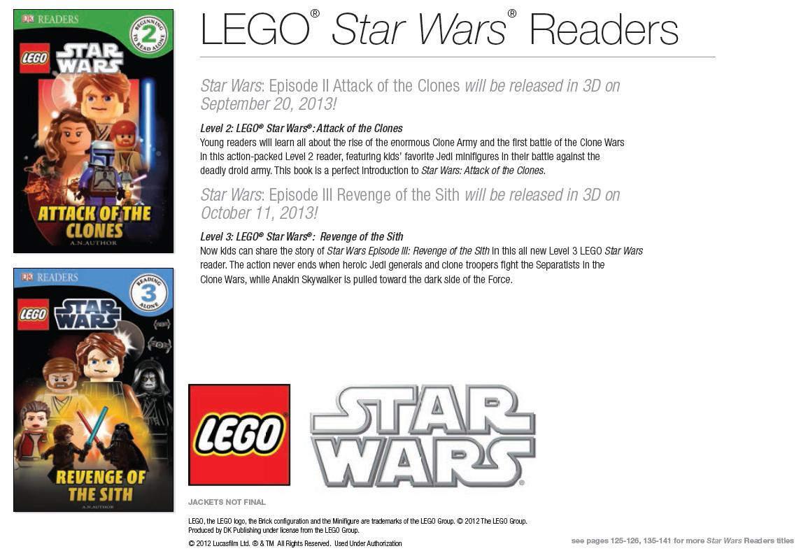 New Lego 2013 Dk Books The Brick Fan