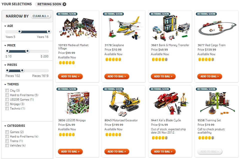Lego Disney Castle Retiring  LEGO 374-1 Fire Station Set Parts