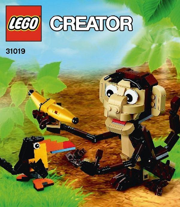 New 2014 LEGO Creator Polybags: Race Car (31017) & Monkey (31019 ...