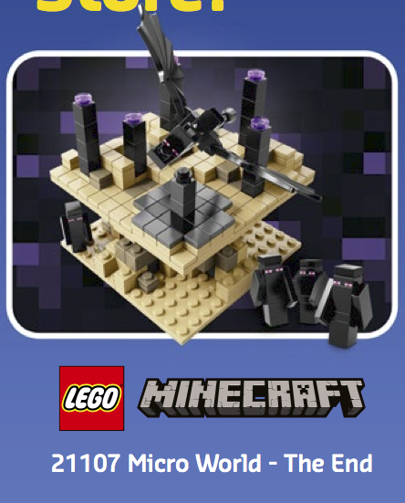 LEGO Minecraft - The End (21107)