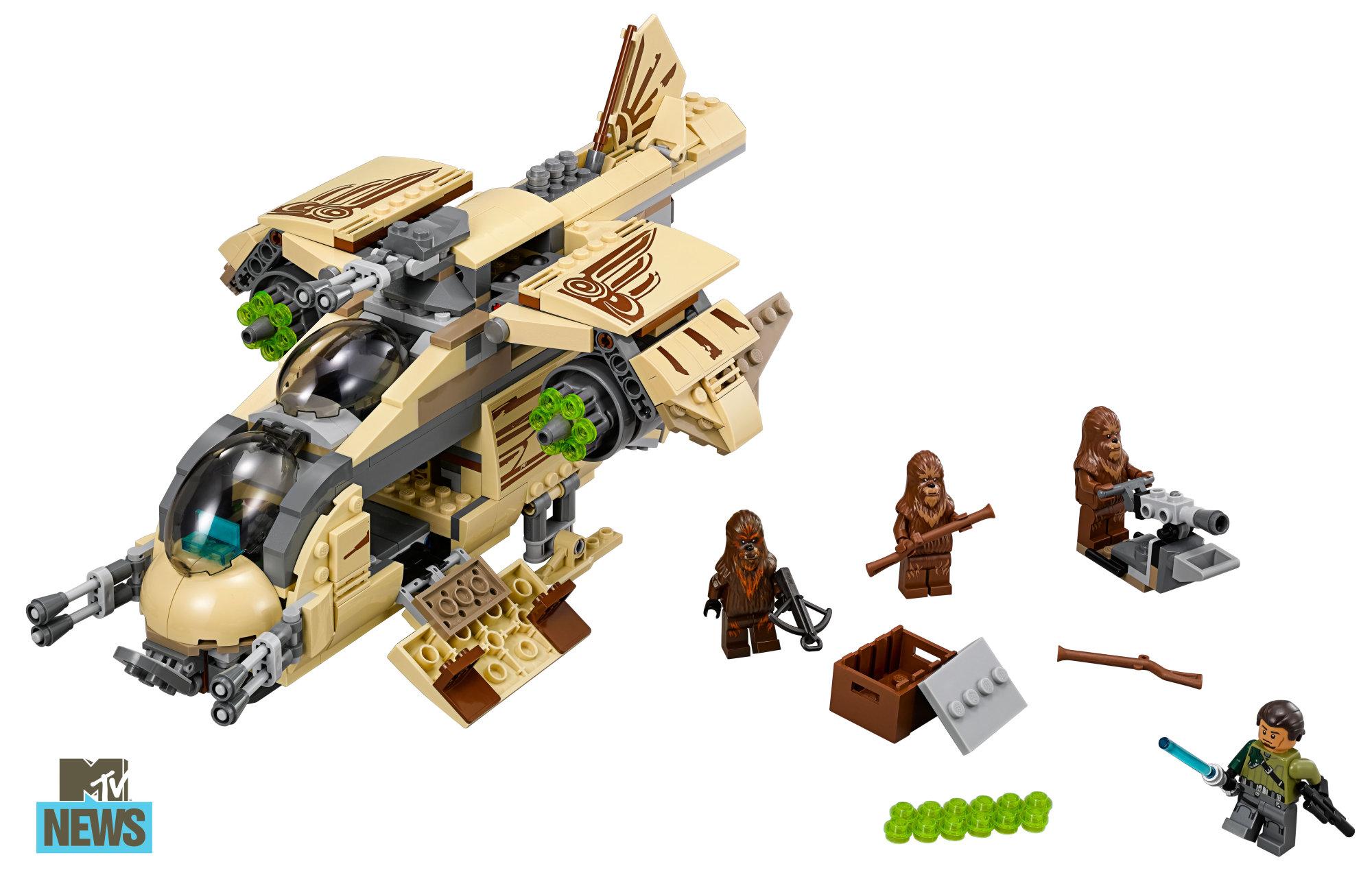 lego star wars wookie gunship 75084 revealed for sdcc. Black Bedroom Furniture Sets. Home Design Ideas