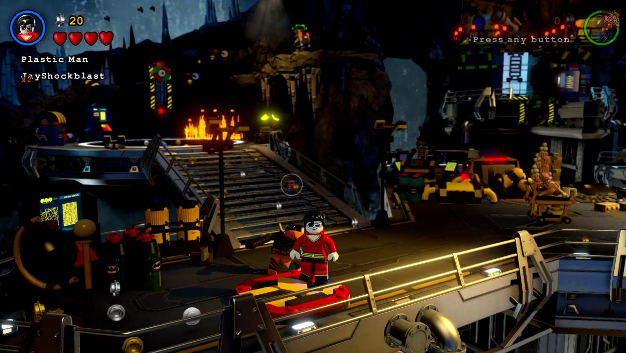 Lego Batman 3 Beyond Gotham Red Brick Guide