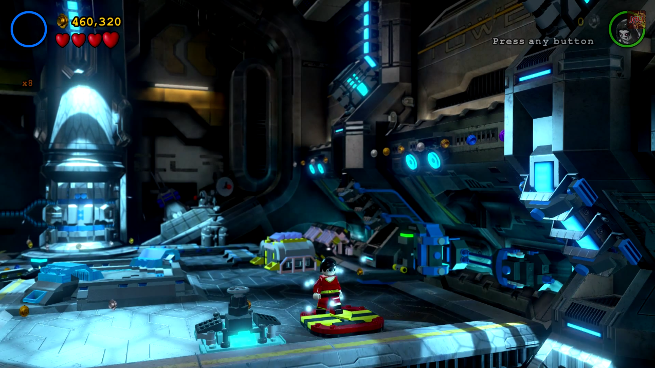 LEGO Batman 3: Beyond Gotham Red Brick Guide