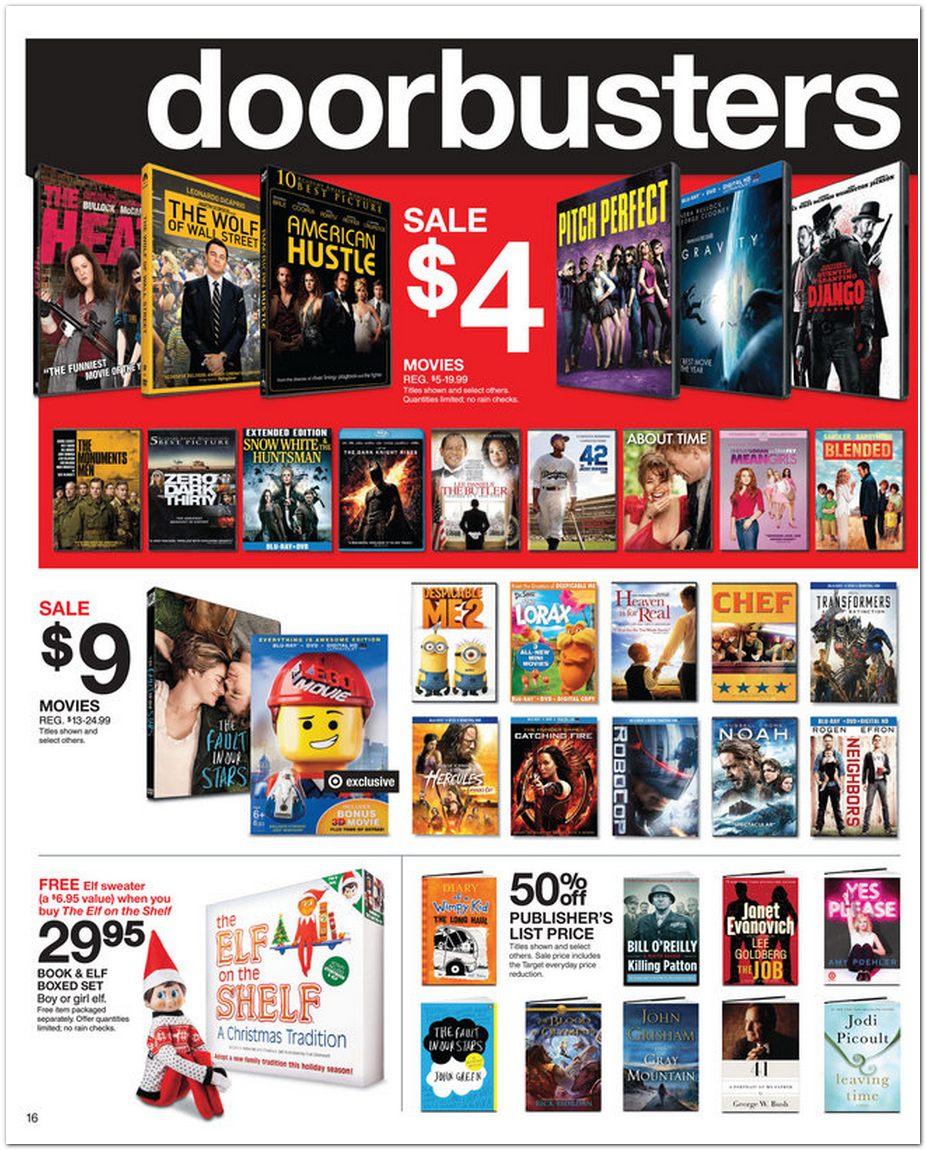 Target doorbuster deals online