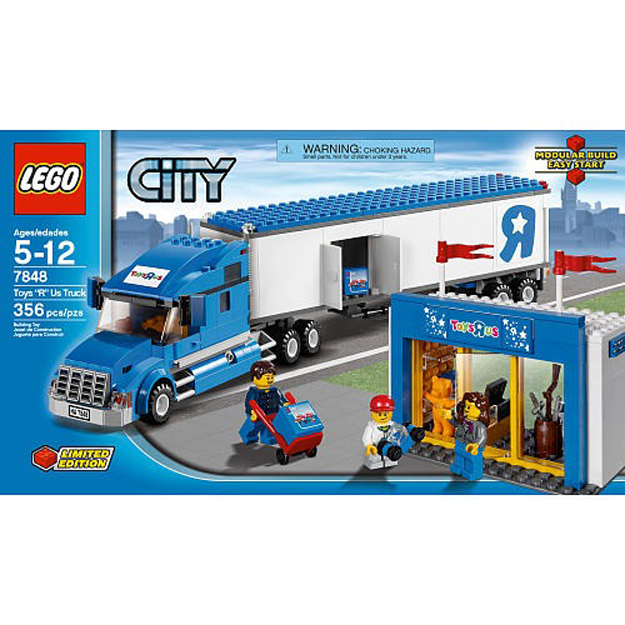 Lego Sets At Toys R Us : Lego city toys r us truck review
