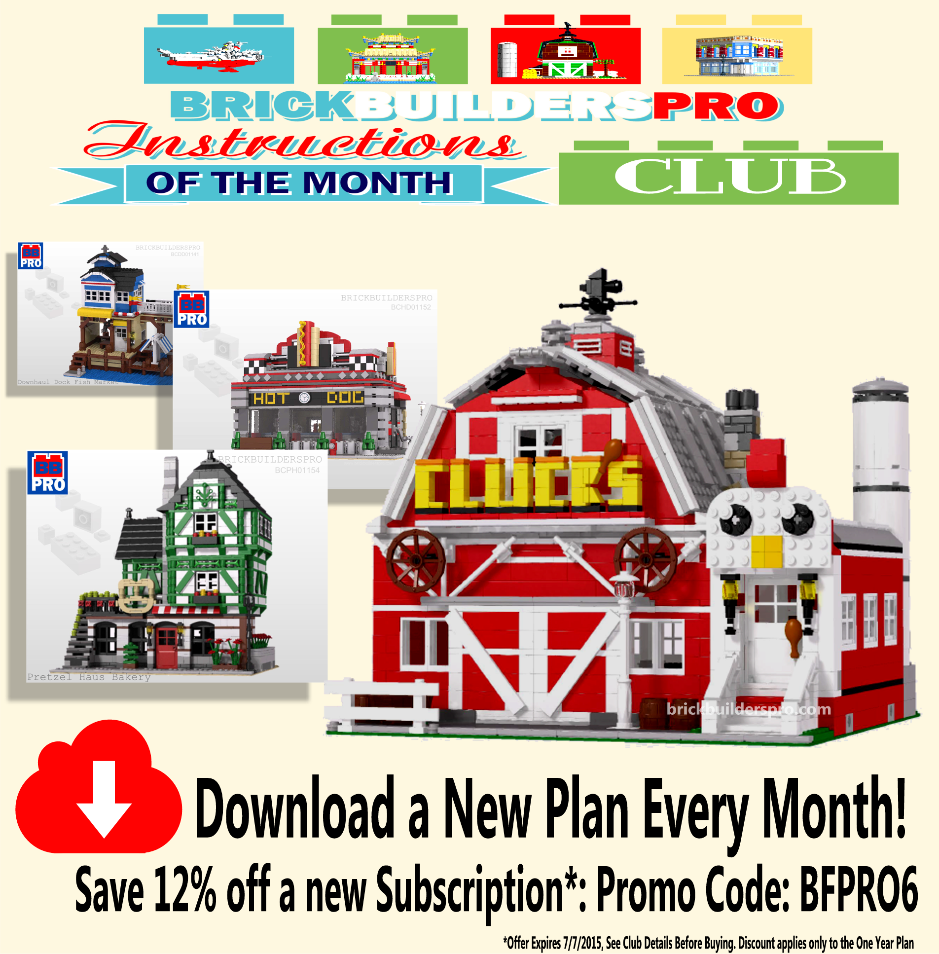 Introducing Brickbuilderspro Instruction Of The Month Club