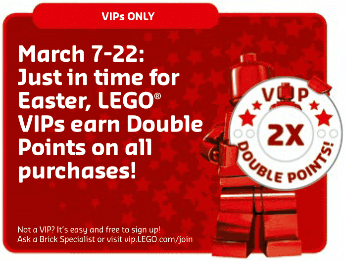 LEGO 2016 Double VIP Points Promotion Now Live - The Brick Fan | The ...