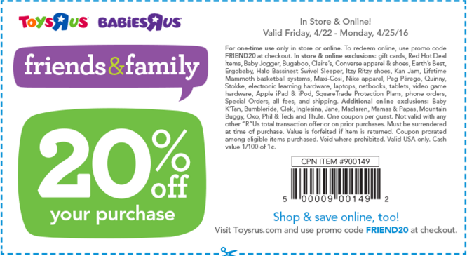 Never miss another coupon. Be the first to learn about new coupons and deals for popular brands like Toys R Us with the Coupon Sherpa weekly newsletters.