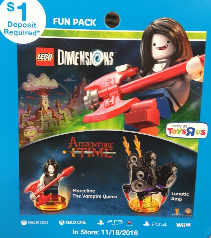 LEGO Dimensions Adventure Time Marceline Fun Pack (71285) Revealed ...
