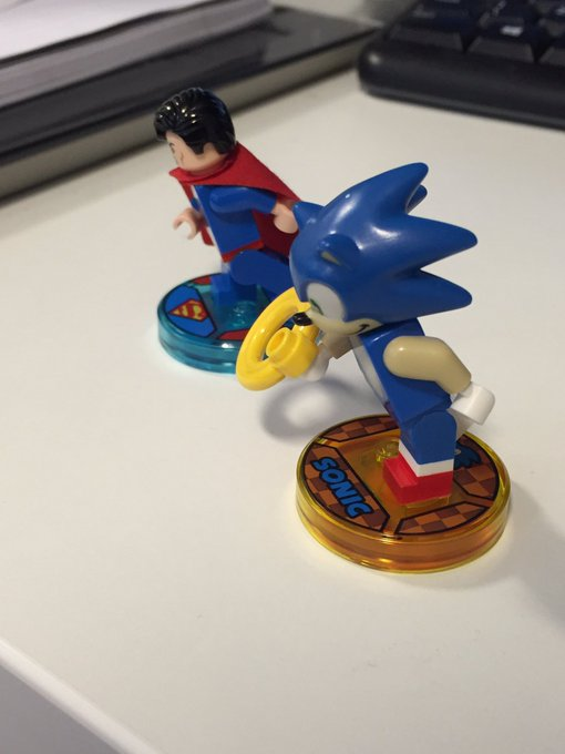 Lego Dimensions Sonic The Hedgehog Minifigure Revealed The Brick Fan