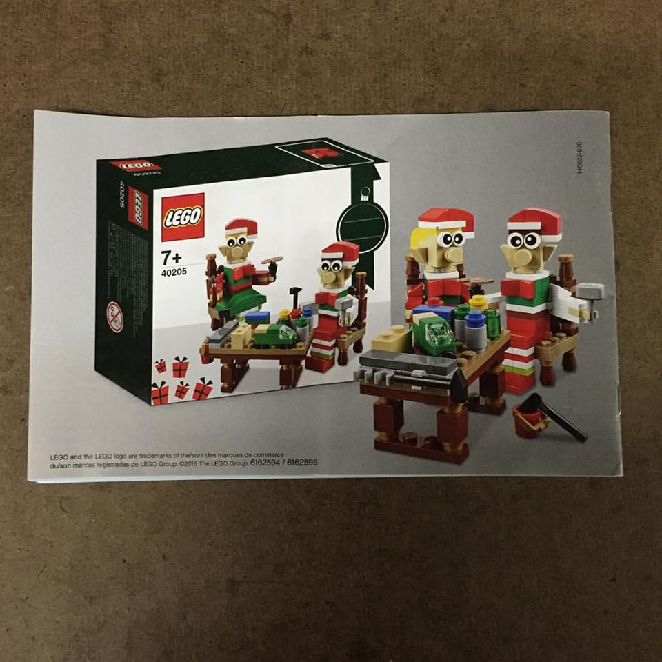 lego seasonal christmas elves workshop 40205 image