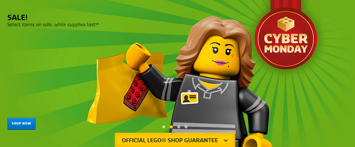 This Cyber Monday Lego sale is only scheduled to last for a single day, so don't let it end before looking through the rest of the discounted Lego sets at Amazon while you have the opportunity. The Lego Brick Backpack could also be a nice addition to your order, and it's currently discounted as well.