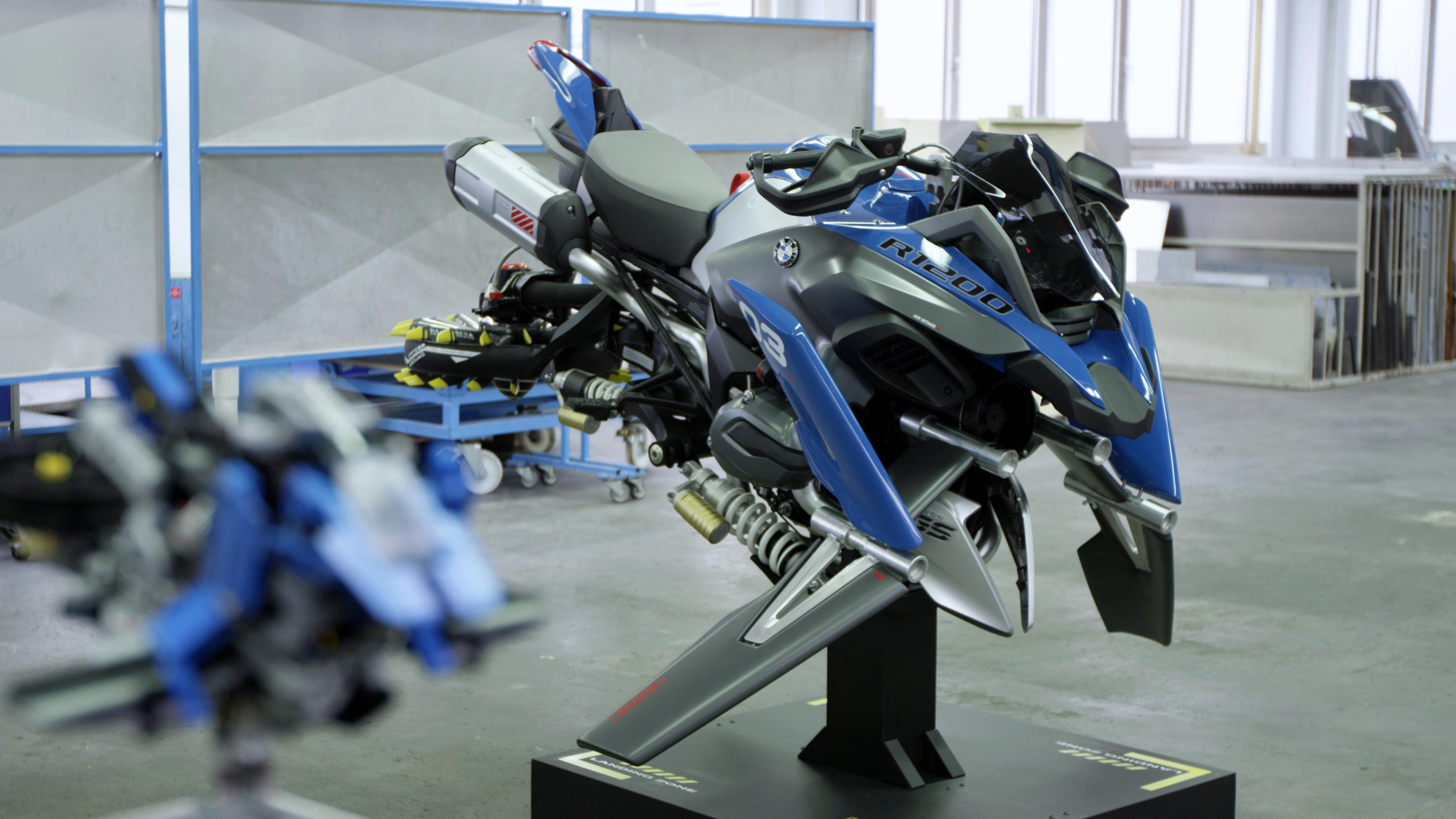 Lego Technic Bmw R 1200 Gs Adventure Design Concept Hover Ride The