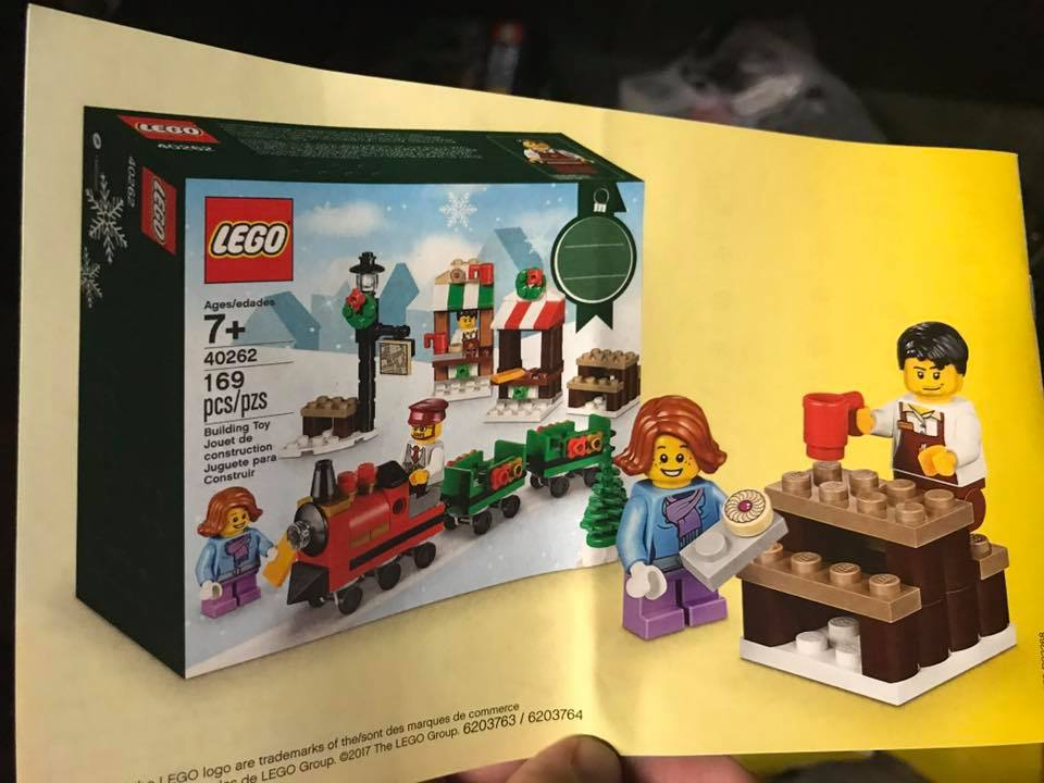 there are now images of the two 2017 lego seasonal christmas sets which were found over on brickgeekz the sets have no official names at this time but they