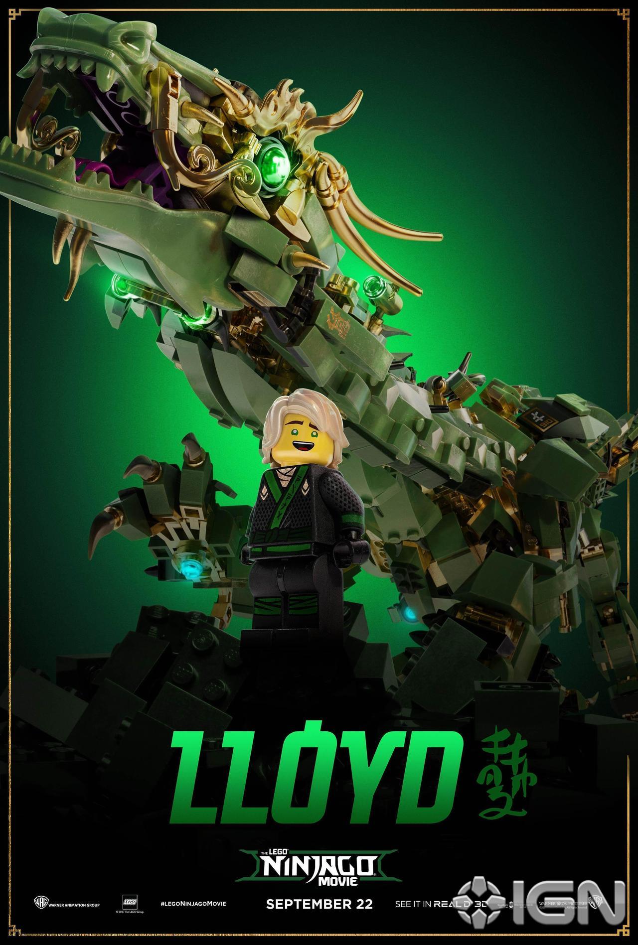 The LEGO Ninjago Movie New Character Posters - The Brick Fan | The ...
