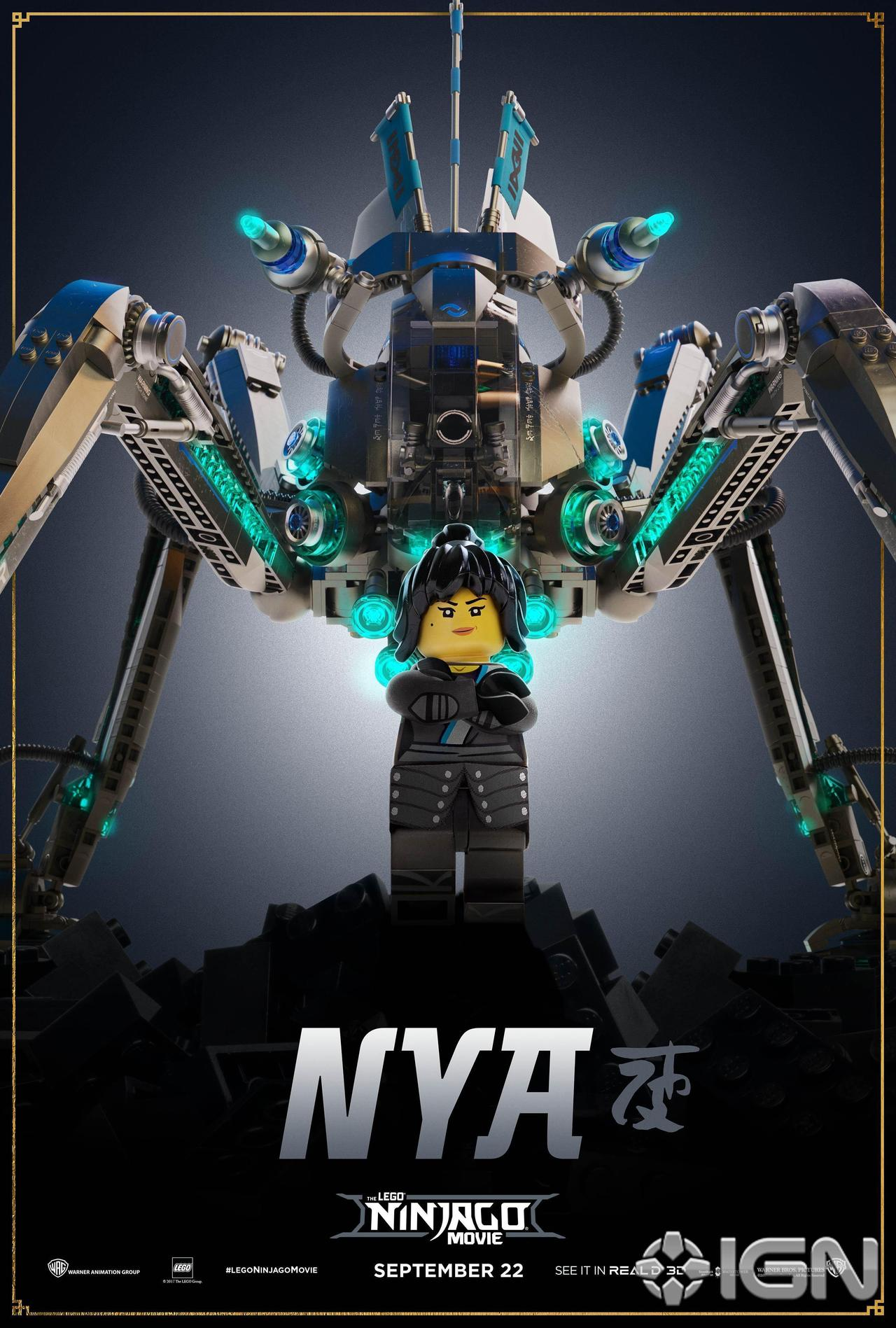 The LEGO Ninjago Movie New Character Posters - The Brick Fan