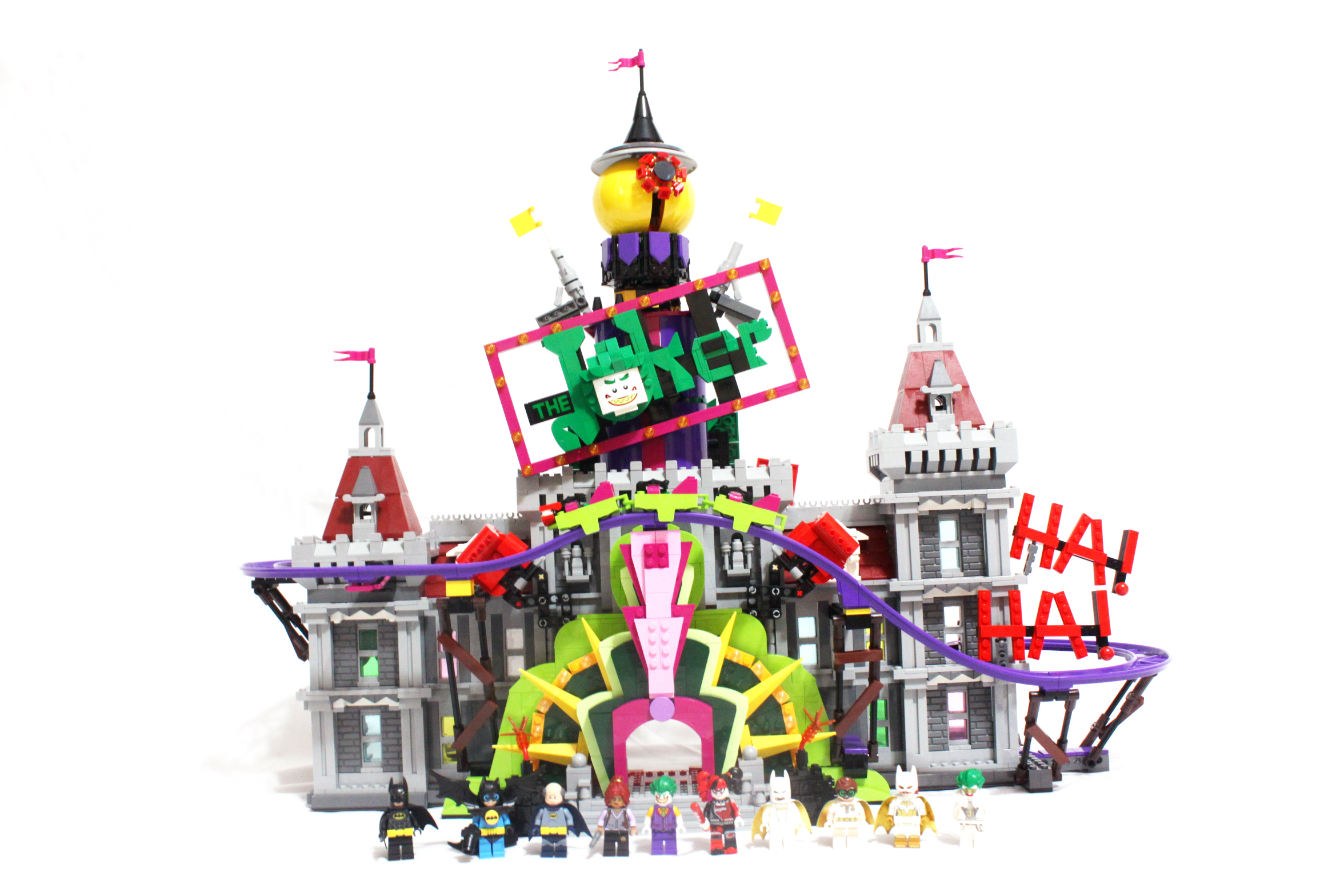 The LEGO Batman Movie The Joker Manor (70922) Review - The ...