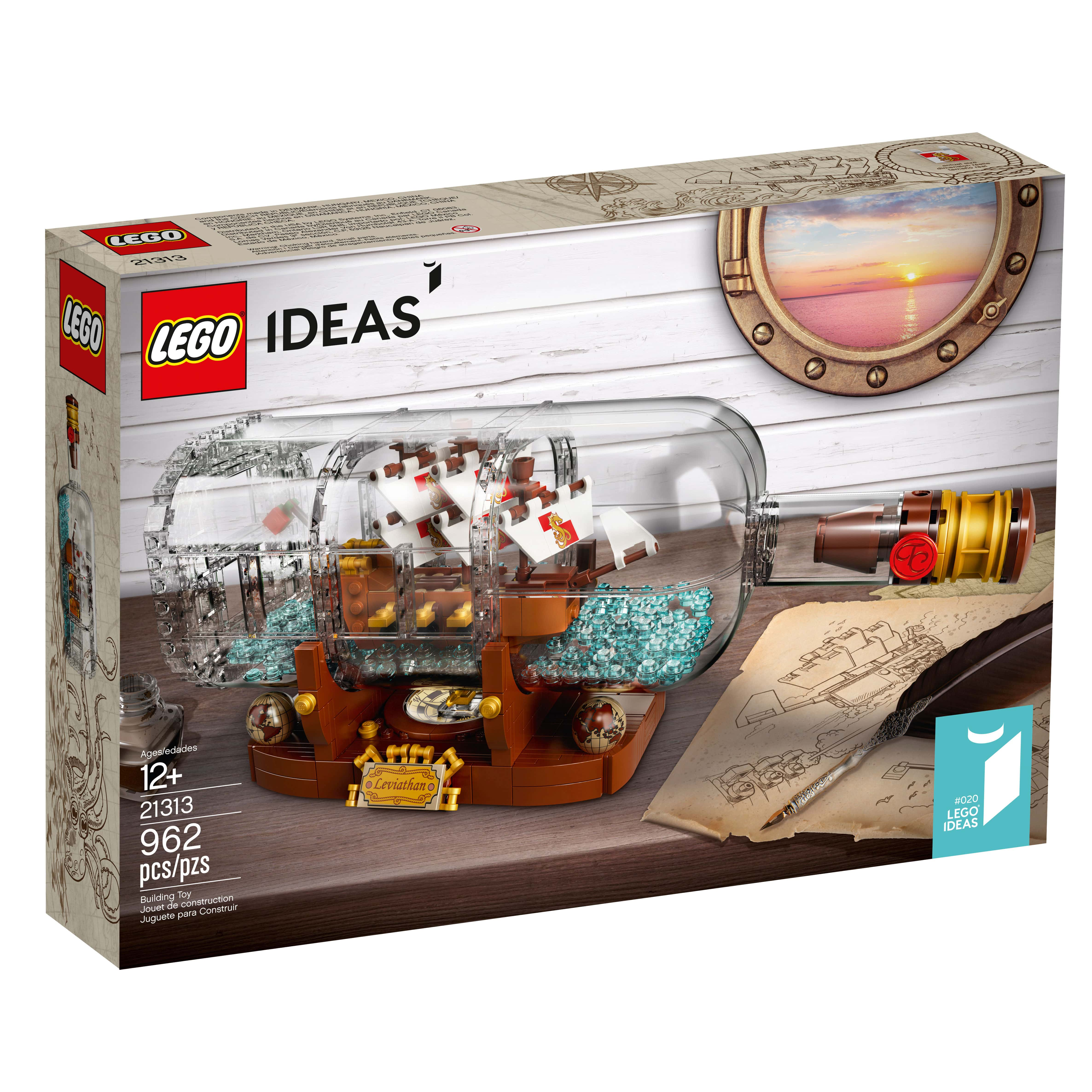 lego ideas ship in a bottle 21313 officially announced. Black Bedroom Furniture Sets. Home Design Ideas