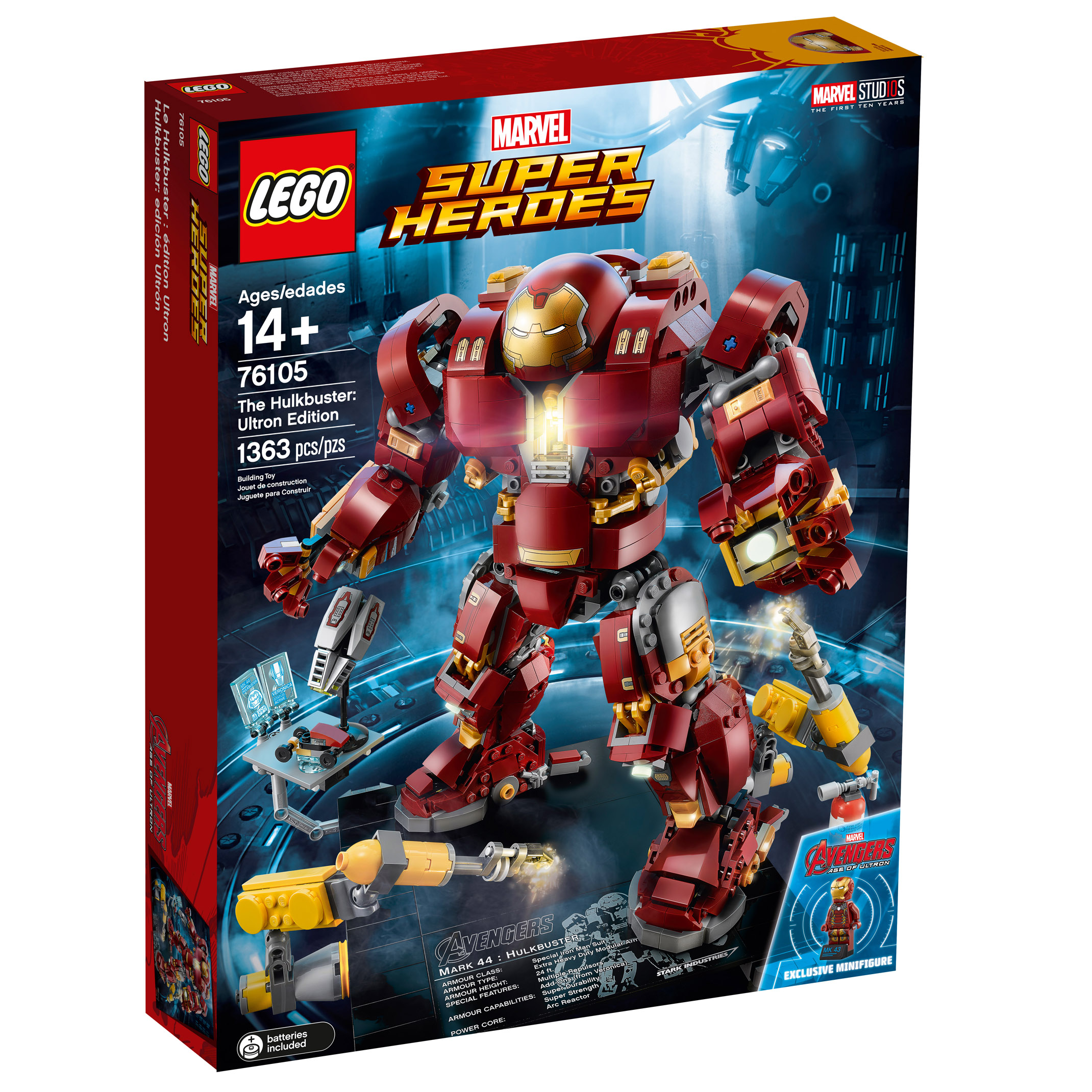 LEGO Marvel Super Heroes The Hulkbuster: Ultron Edition (76105)