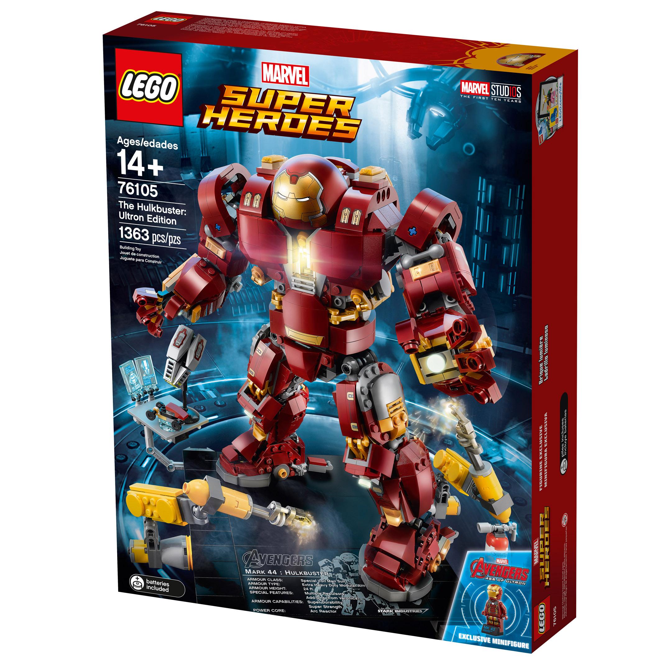 Lego Edition76105 Heroes HulkbusterUltron Super Marvel The R543LqAj