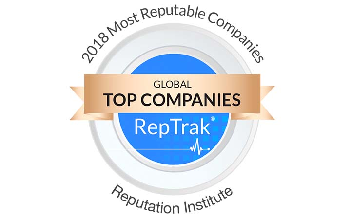LEGO Ranked Number 2 on 2018 Global CSR RepTrak 100 - The