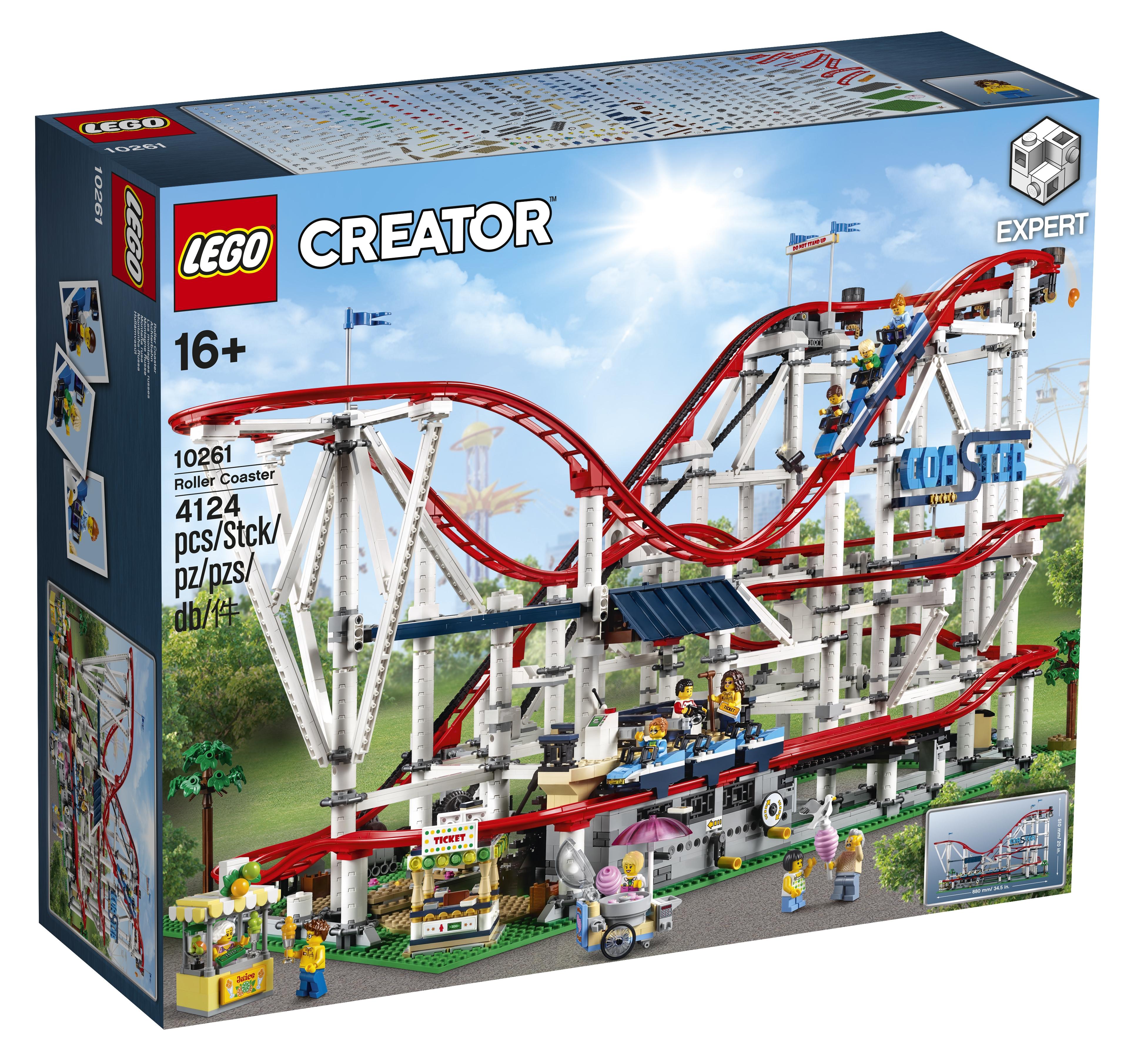 lego creator roller coaster 10261 officially announced. Black Bedroom Furniture Sets. Home Design Ideas