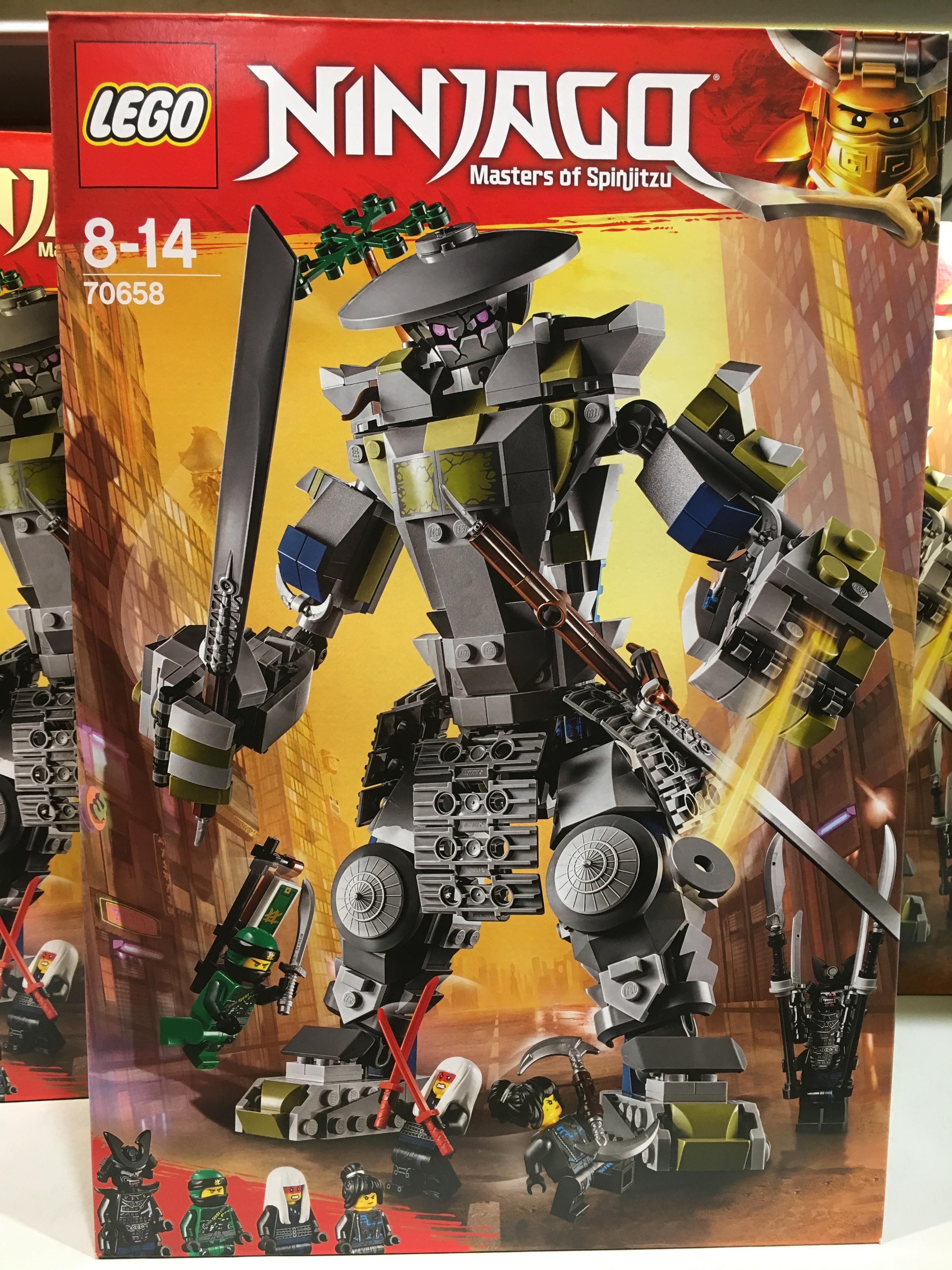 Lego Ninjago Oni Titan 70658 Set Found At Legoland Billund The