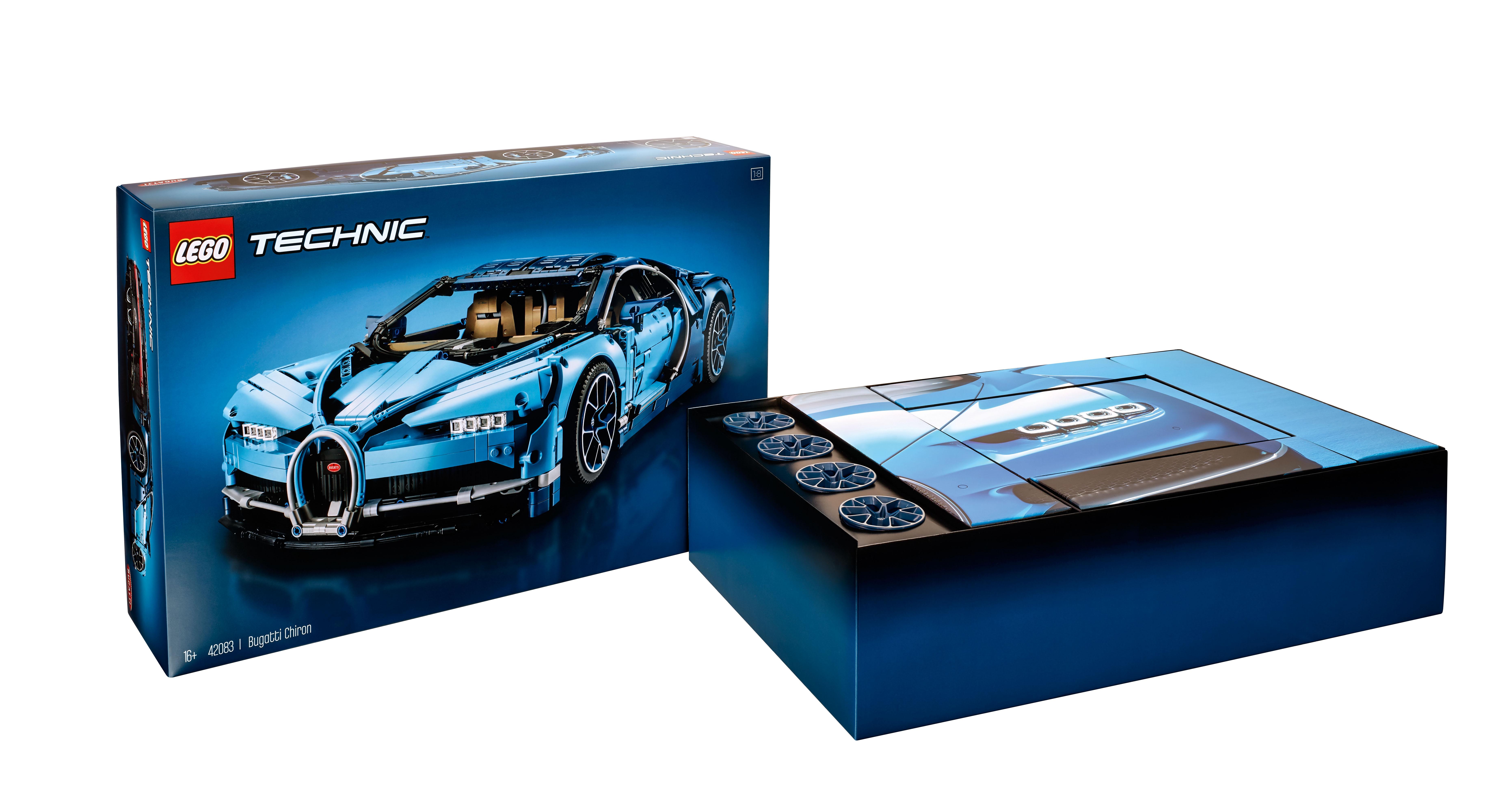 Lego Technic Bugatti Chiron 42083 Officially Announced The Brick Fan