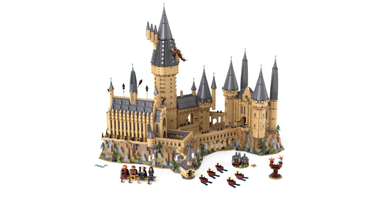lego wizarding world harry potter hogwarts castle 71043 revealed the brick fan. Black Bedroom Furniture Sets. Home Design Ideas