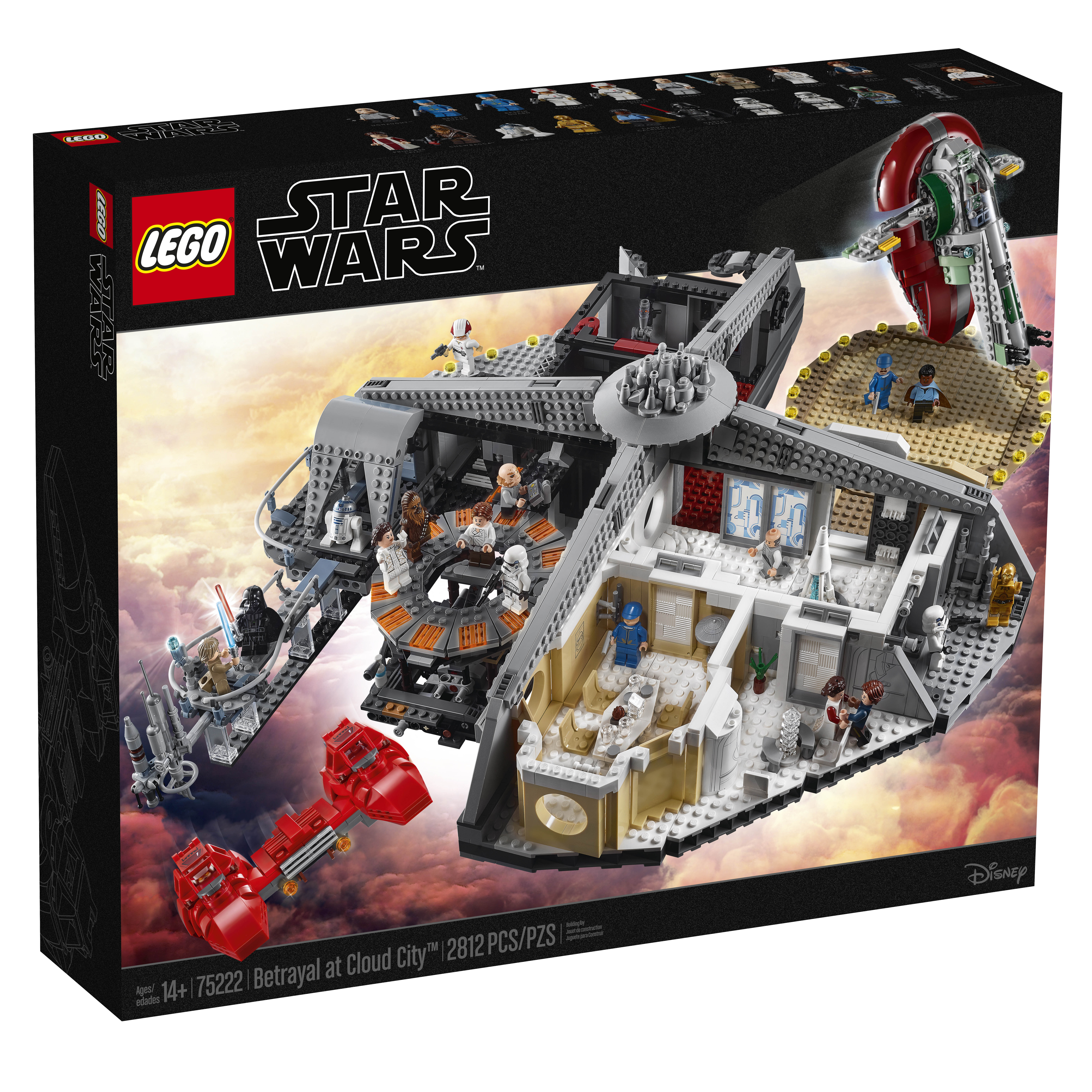 Lego Star Wars Betrayal At Cloud City 75222 Officially Announced