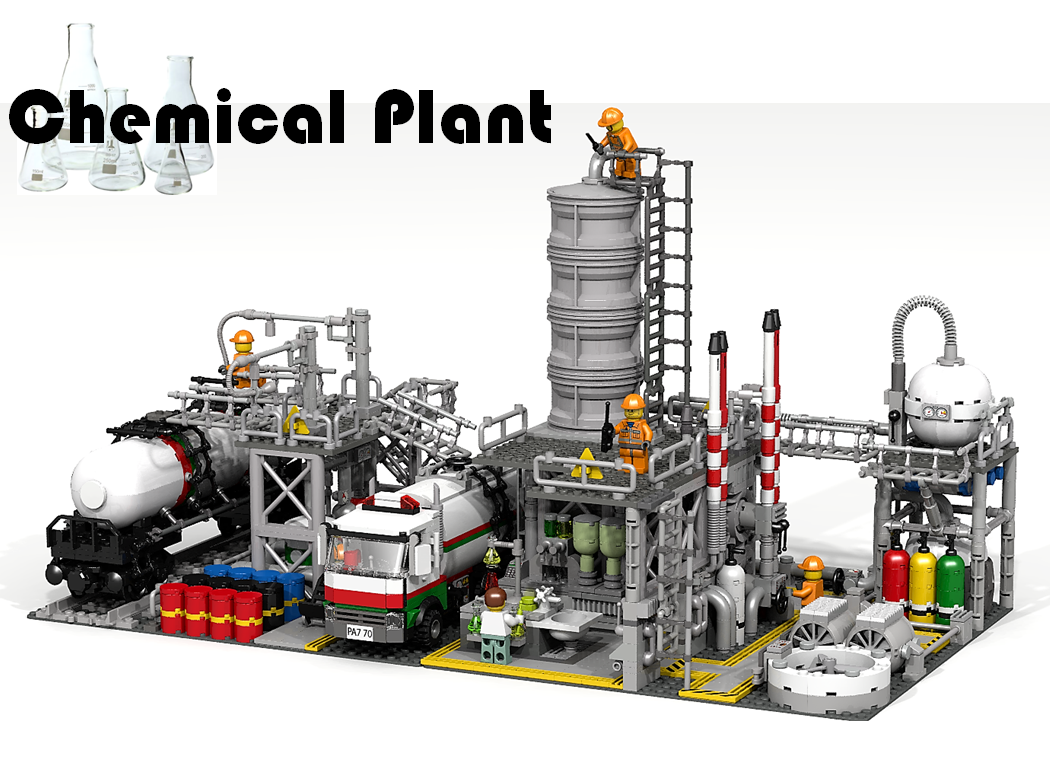 lego ideas chemical plant achieves 10 000 supporters the. Black Bedroom Furniture Sets. Home Design Ideas