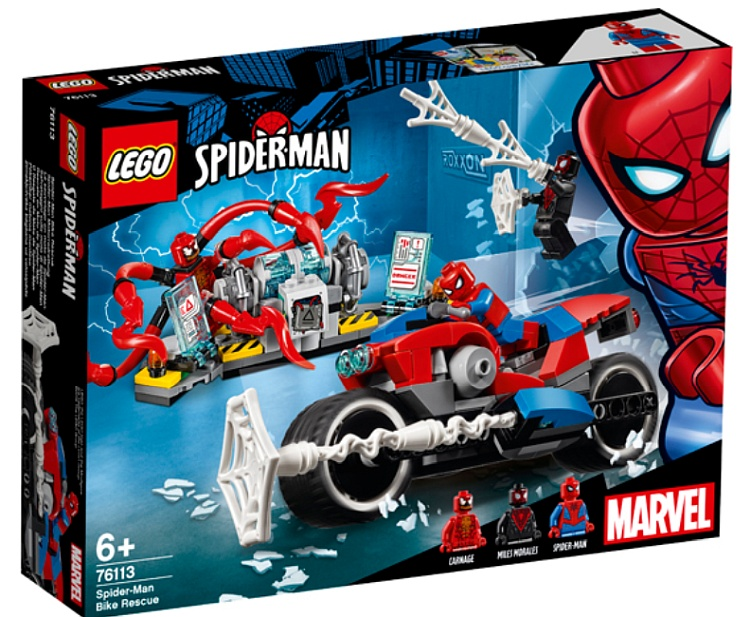 lego marvel super heroes spider man 2019 official set. Black Bedroom Furniture Sets. Home Design Ideas