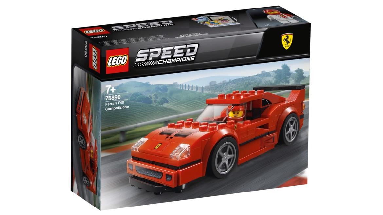 lego speed champions 2019 ferrari f40 competizione 75890. Black Bedroom Furniture Sets. Home Design Ideas