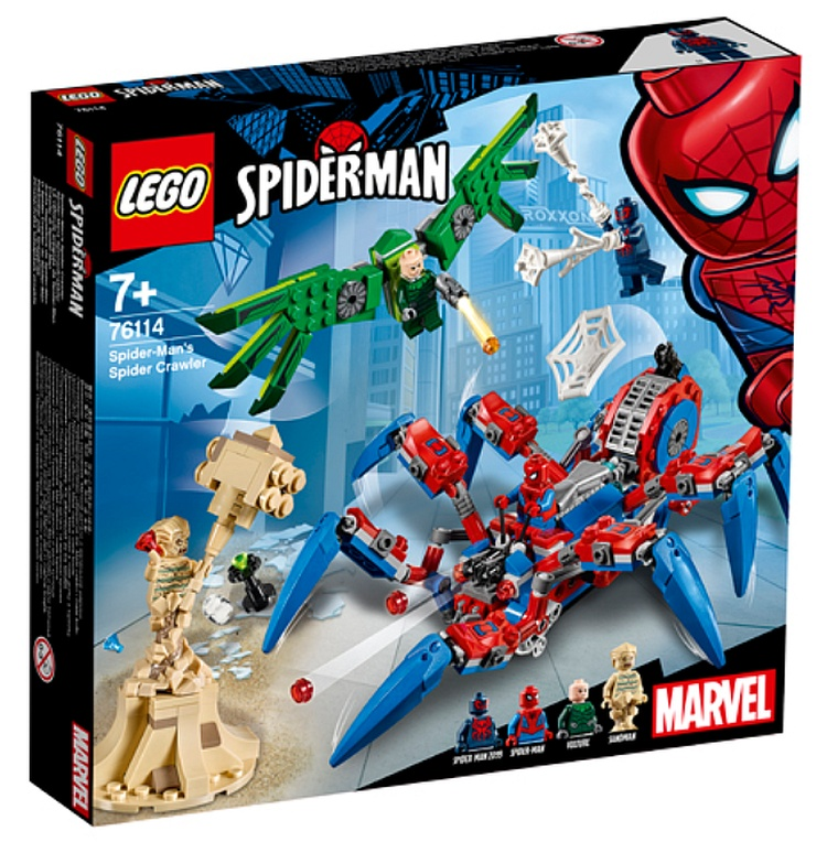 lego marvel spider man 2019 sets releasing in december. Black Bedroom Furniture Sets. Home Design Ideas