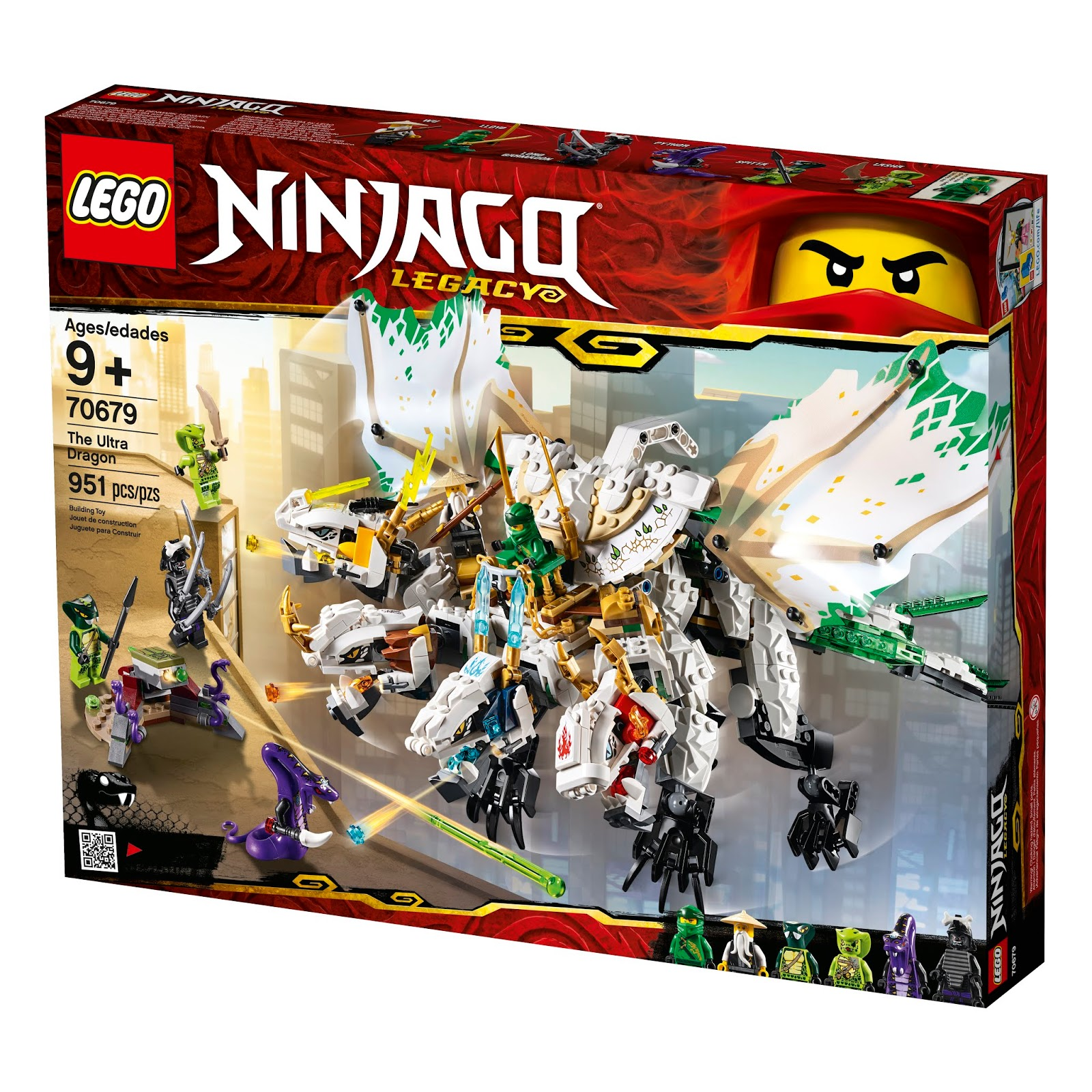 more lego ninjago legacy 2019 set images the brick fan