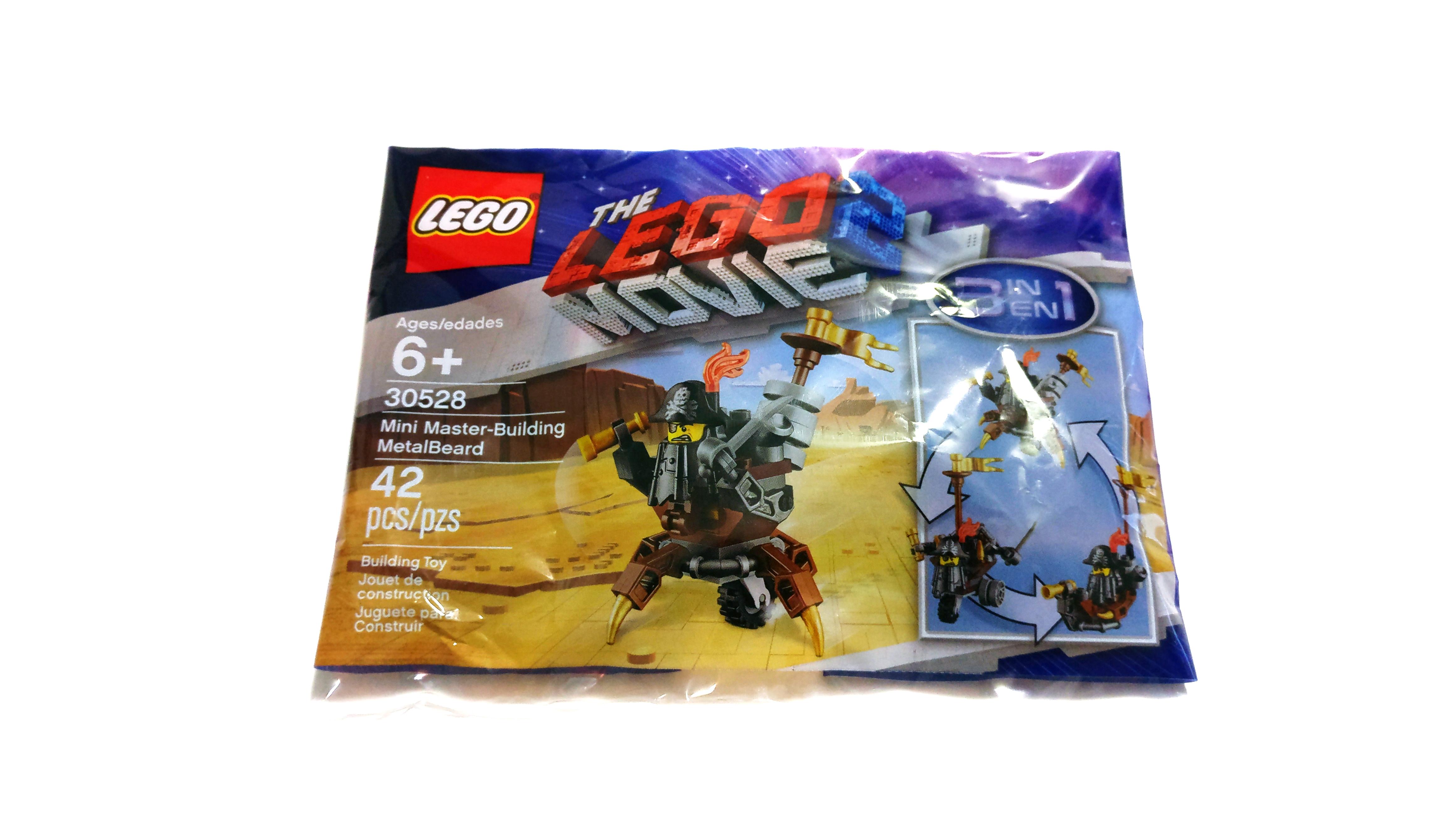 LEGO 30528 The LEGO Movie 2 Mini Master-Building MetalBeard Polybag 42pcs New