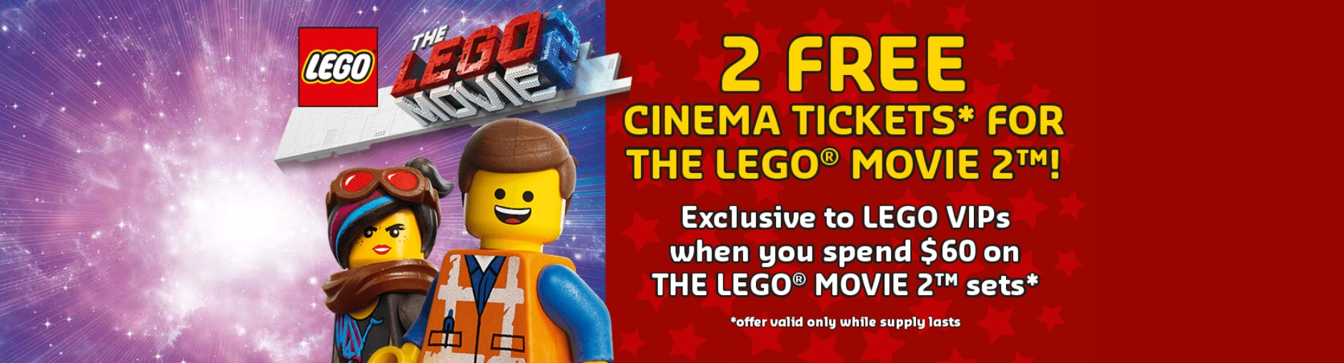 Free Movie Tickets To See The Lego Movie 2 For Vip Members The Brick Fan