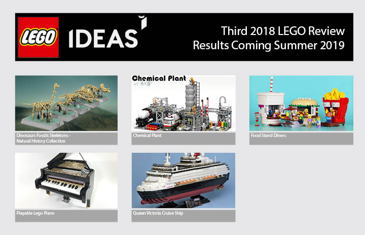 five projects qualify for third 2018 lego ideas review. Black Bedroom Furniture Sets. Home Design Ideas