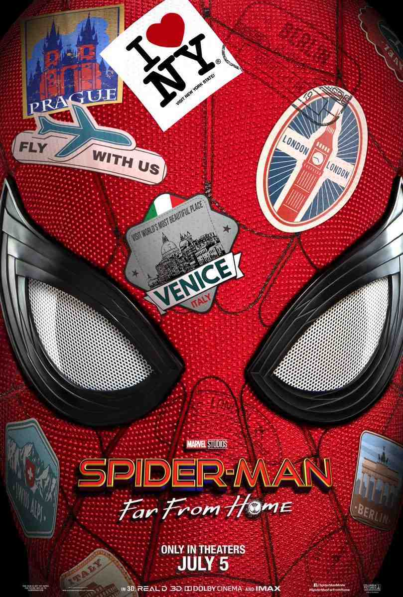 Spider Man Far From Home Teaser Trailers And Rumored Lego Sets