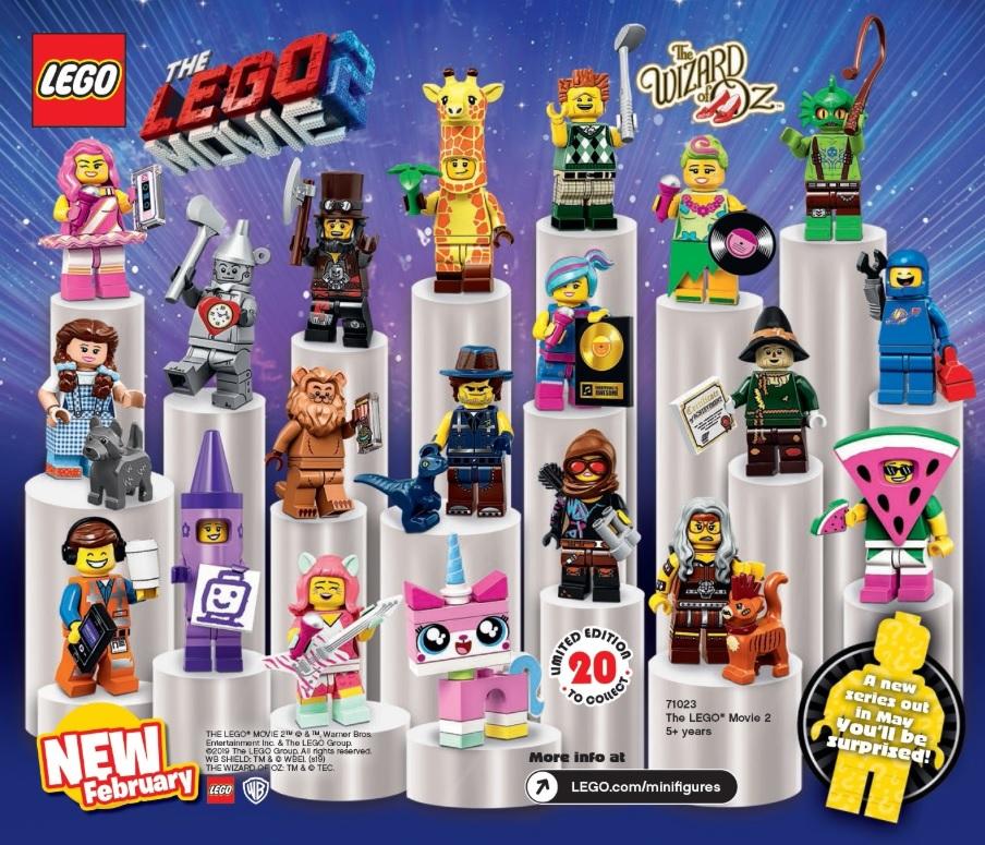 The Lego Movie 2 Collectible Minifigures 71023 Box