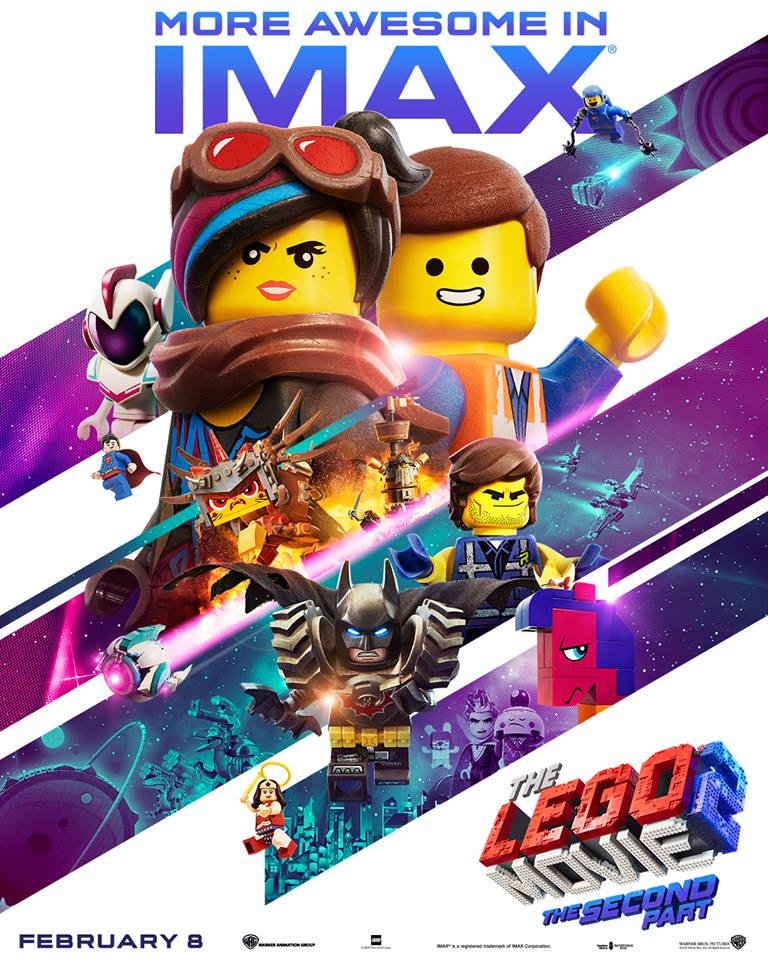 The LEGO Movie 2 IMAX Poster Released - The Brick Fan