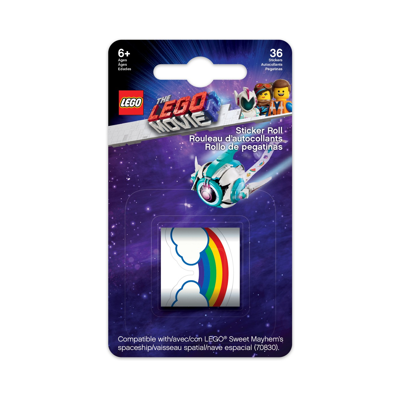 The Lego Movie 2 Replacement Stickers For Sweet Mayhem S Systar Starship The Brick Fan