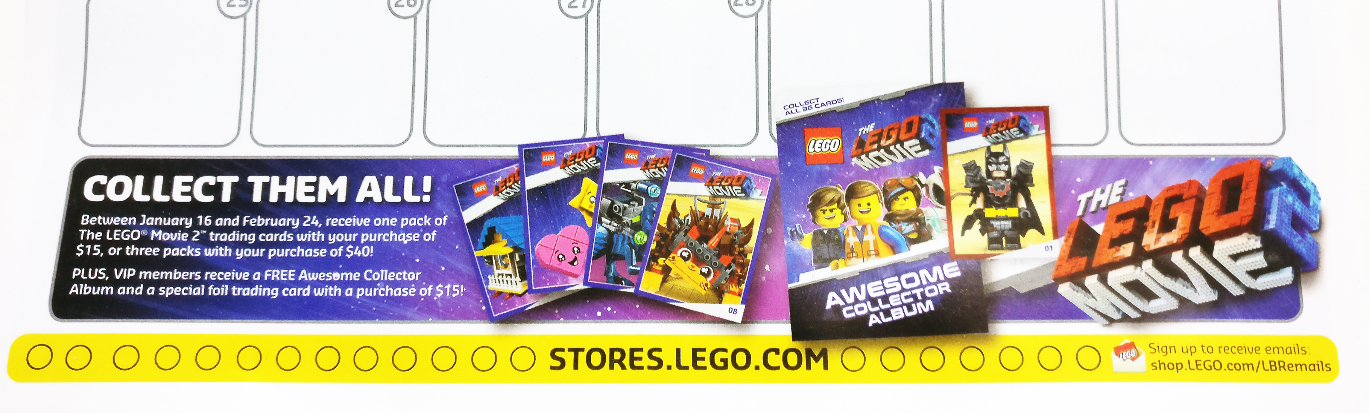 The Lego Movie 2 Trading Cards Promotion Now Live The Brick Fan