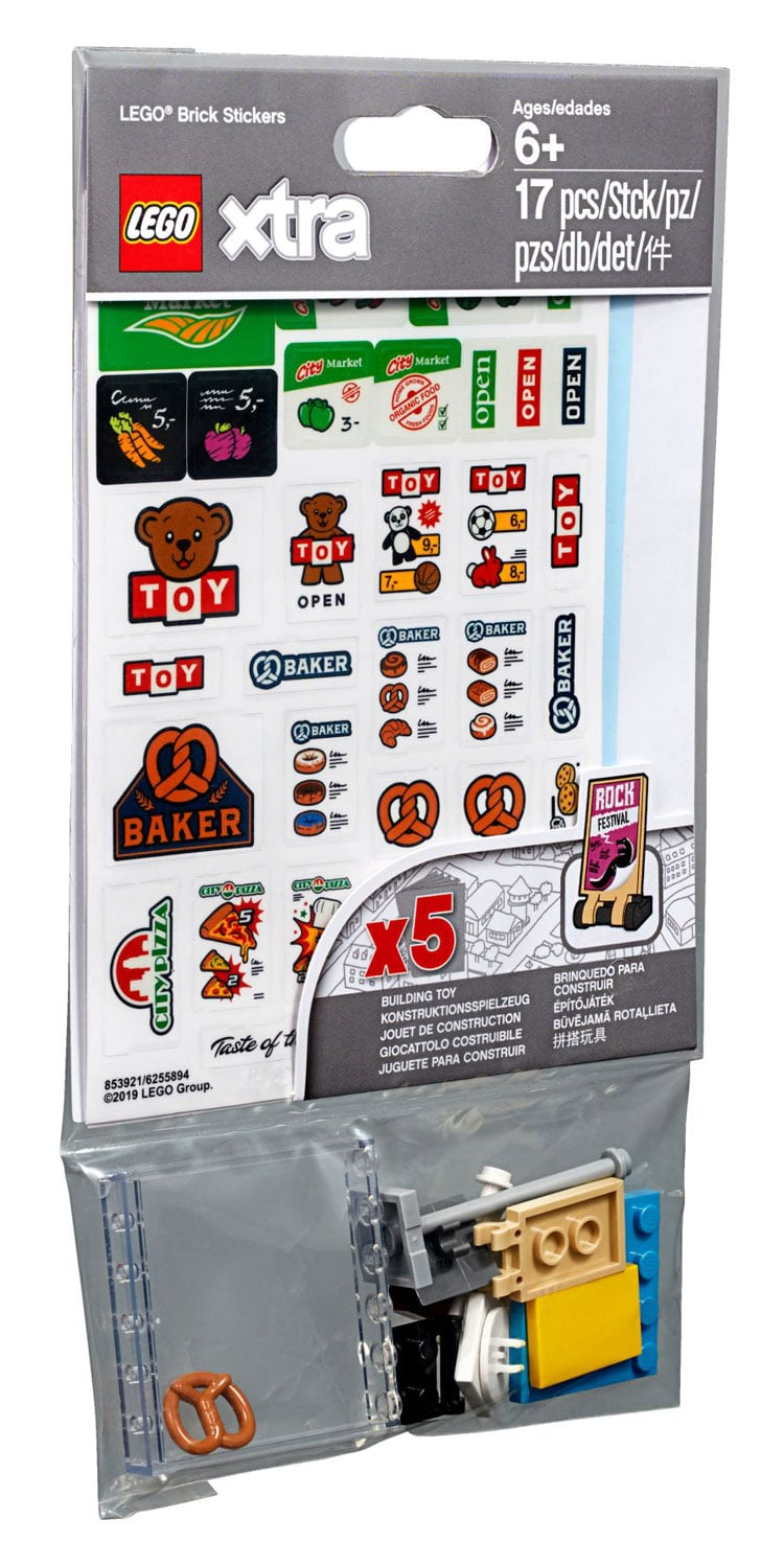 Lego Xtra Lego Brick Stickers 853921 Official Images The