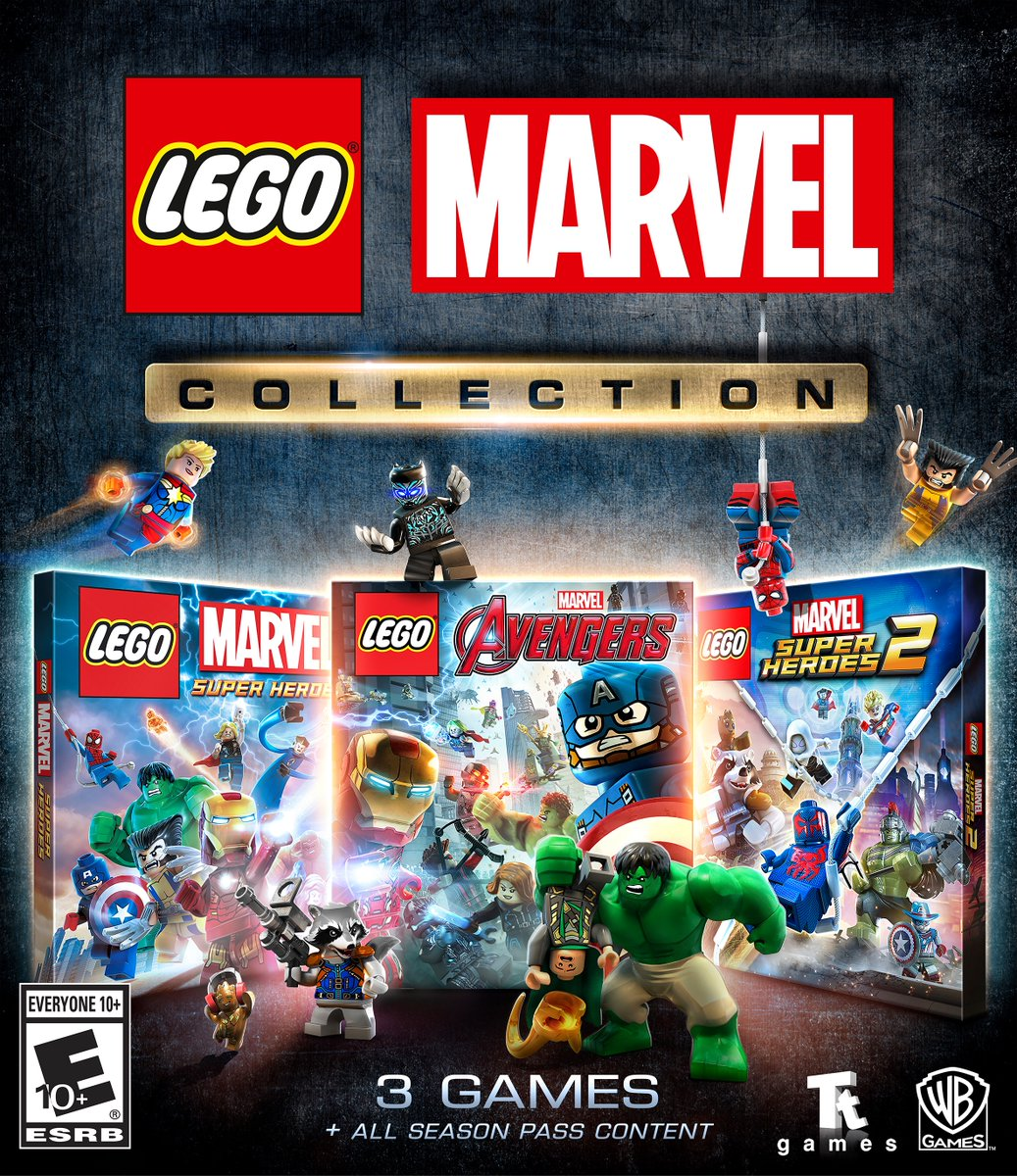 LEGO Marvel Collection Releasing on March 12 - The Brick Fan