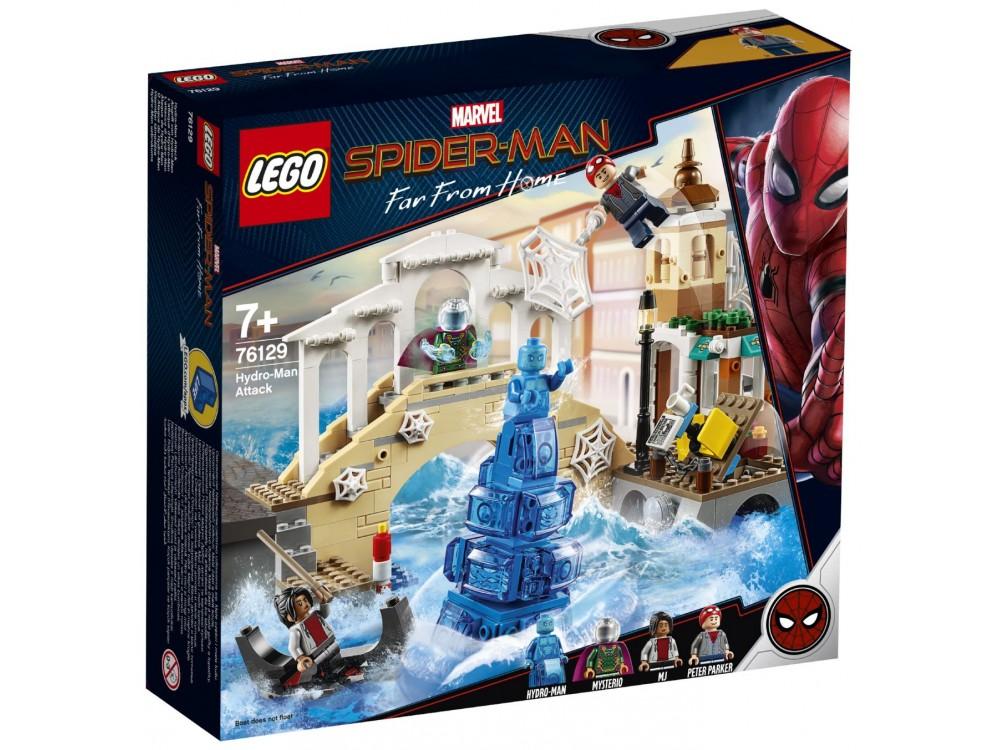 LEGO Super Heroes Mysterio Figur Minifig Spiderman Molten Man 76128 76129
