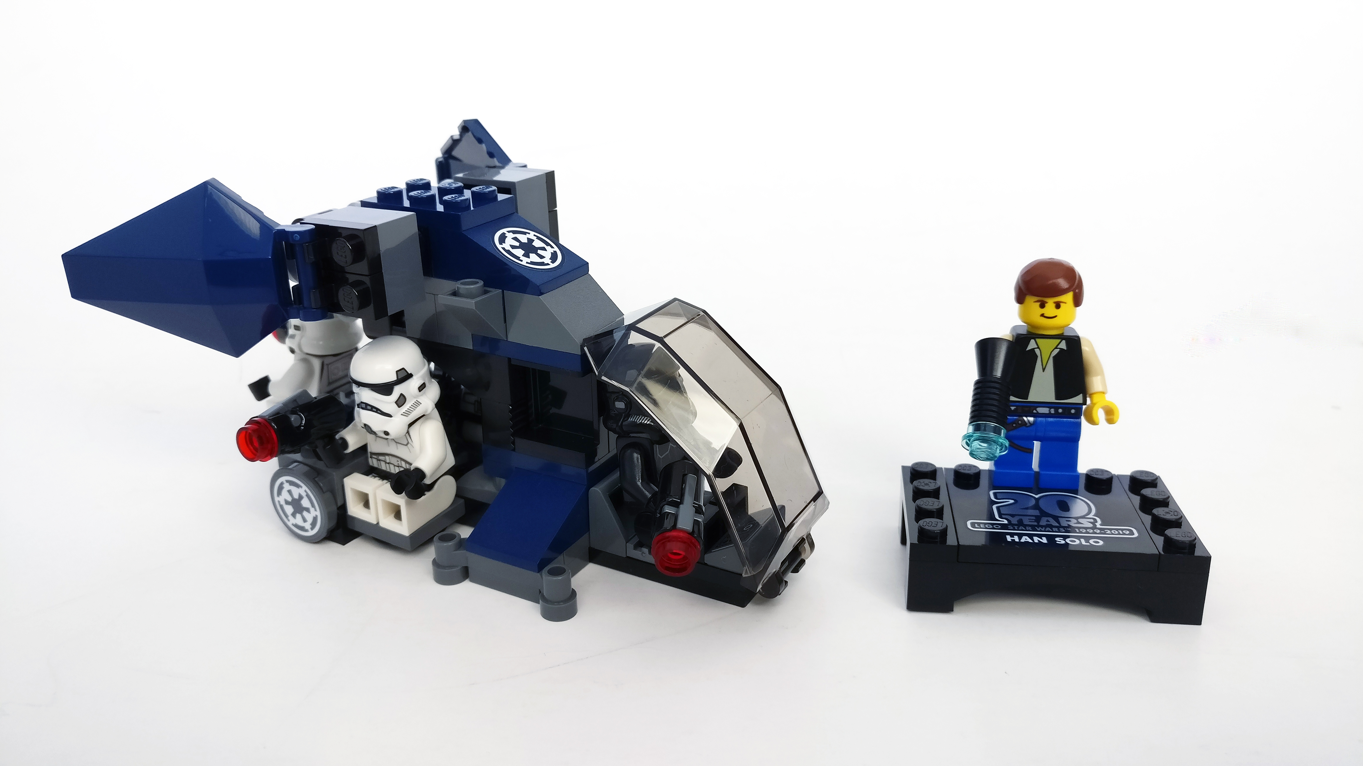 20th Anniversary 75262 Lego Star Wars Imperial Dropship /& Pilot W//Instructions