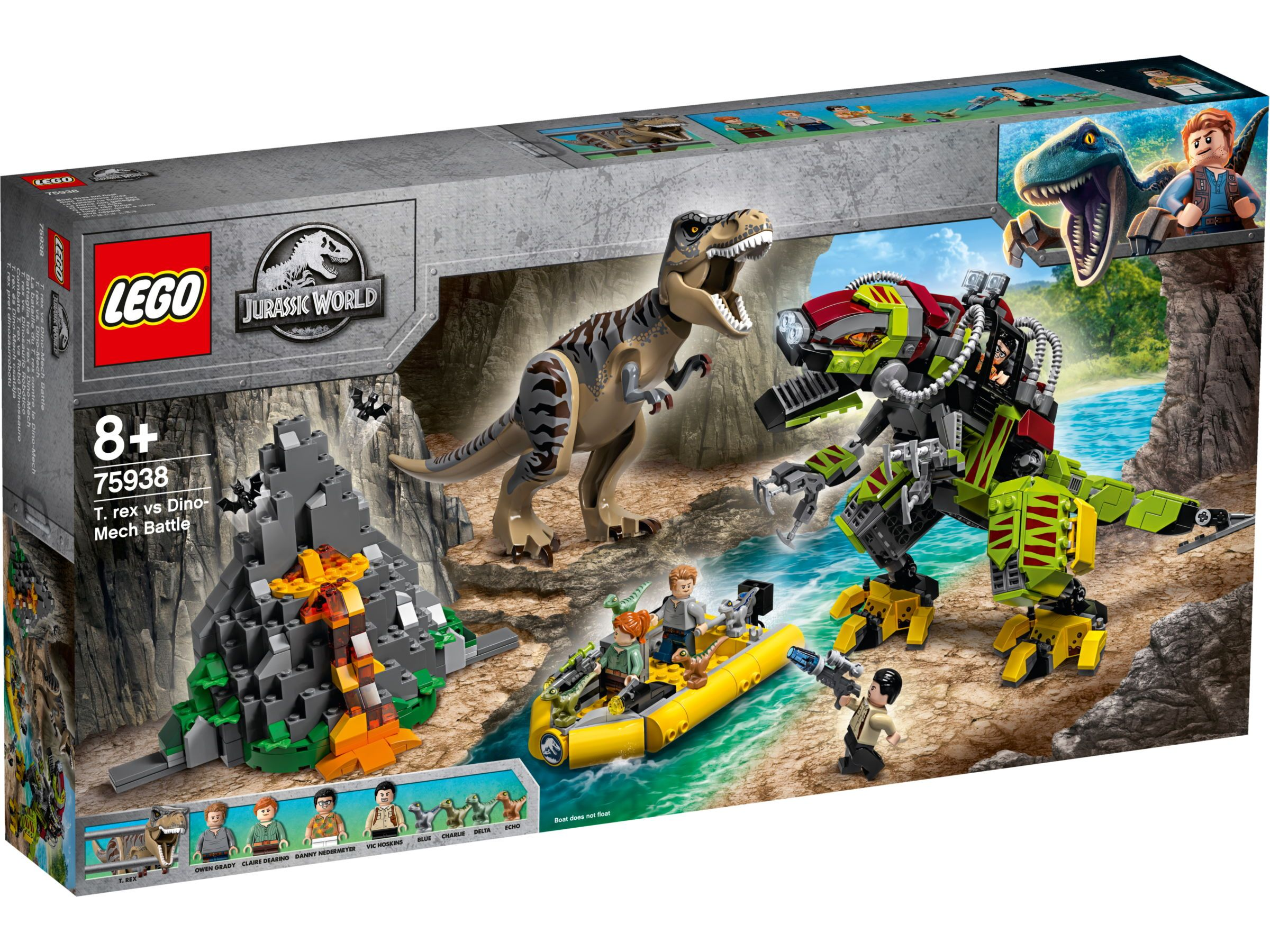 Lego NEW Jurassic World Dilophosaurus